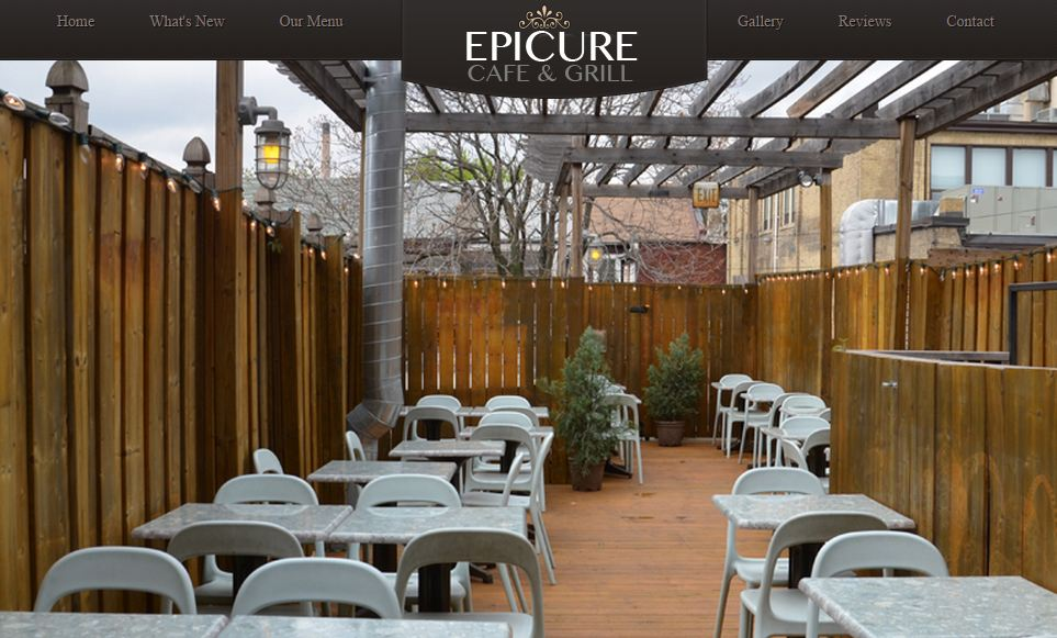 To find out more about Epicure, click on photo