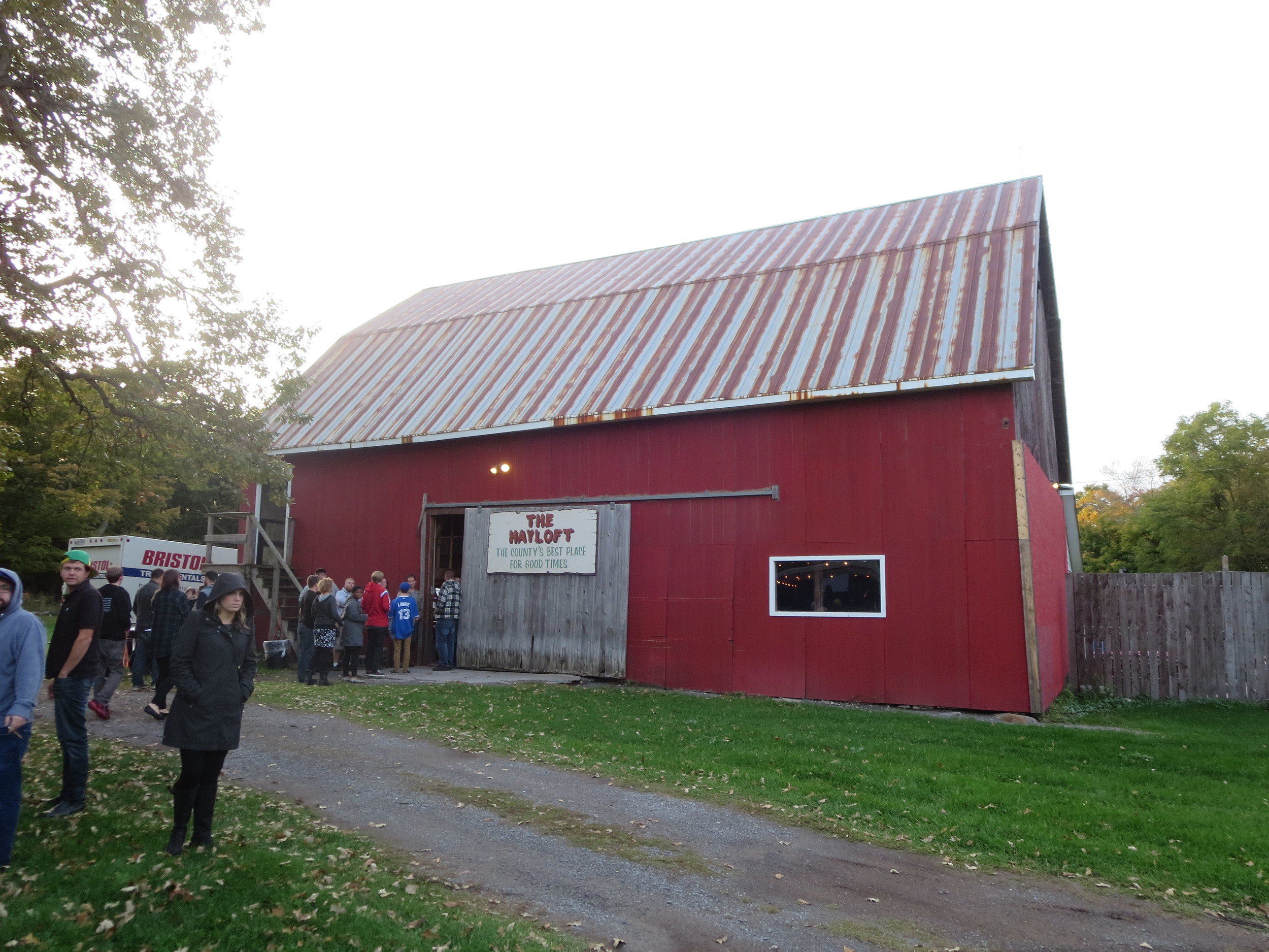 Exterior of The Hayloft