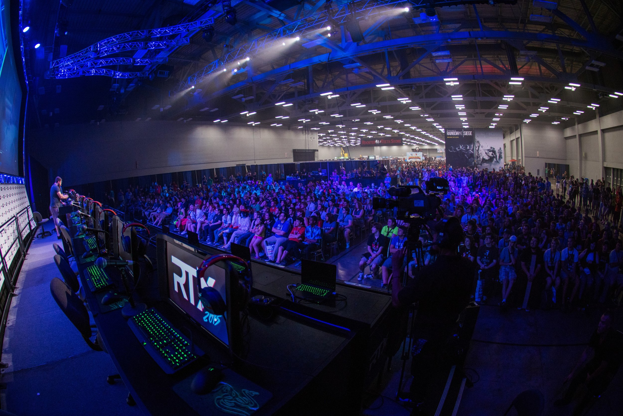 Center Stage at RTX in Austin