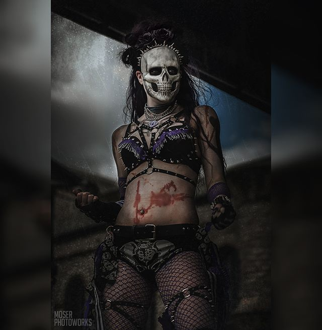 "Who will be grabbing a slice of ""death"" at this years INKcarceration featuring the talented horror cabaret dance & performance group, the Monster Dolls? We're about a few weeks out (Circ. 7/2017)."