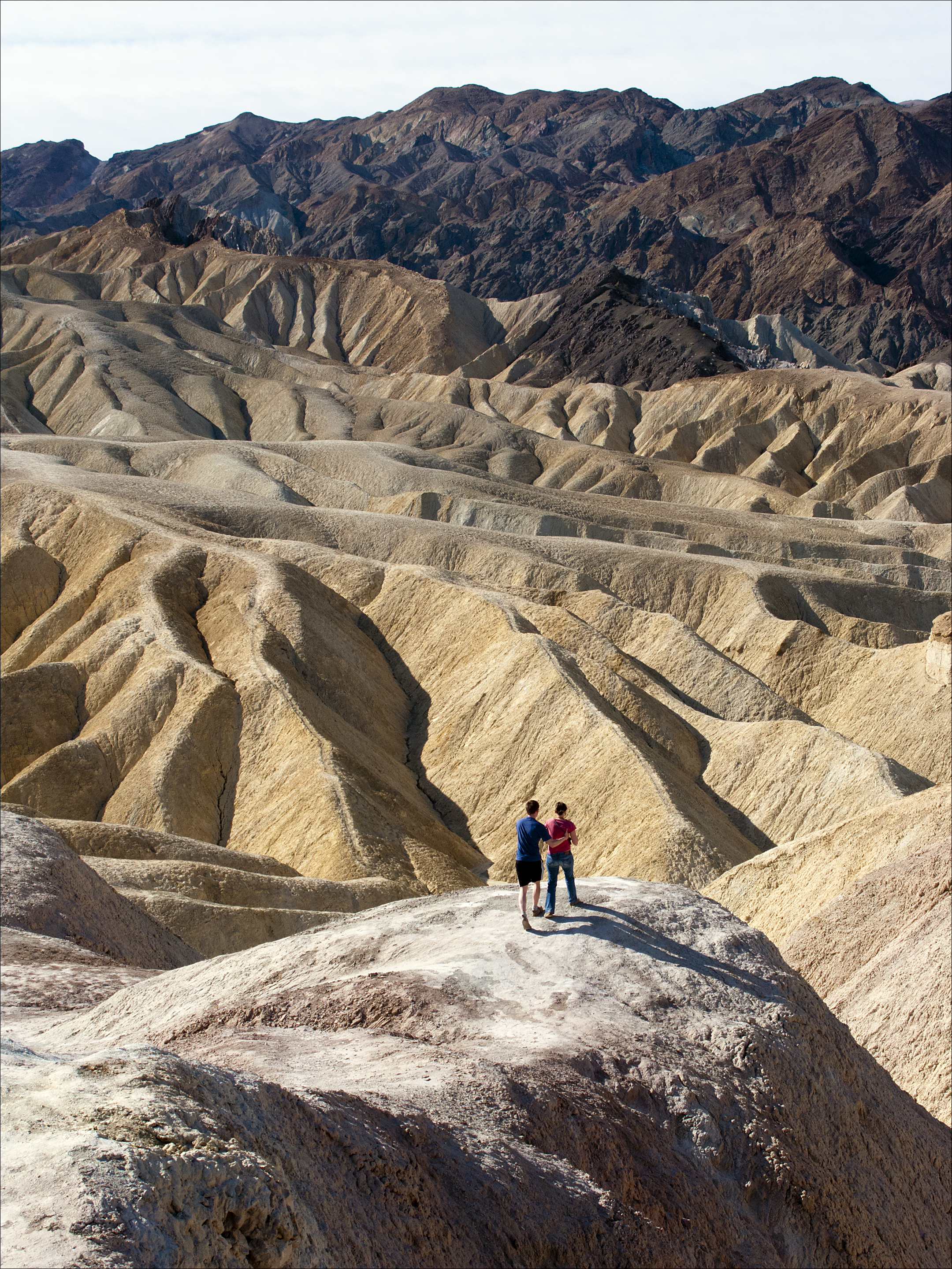 Couple Near Zabriskie Point