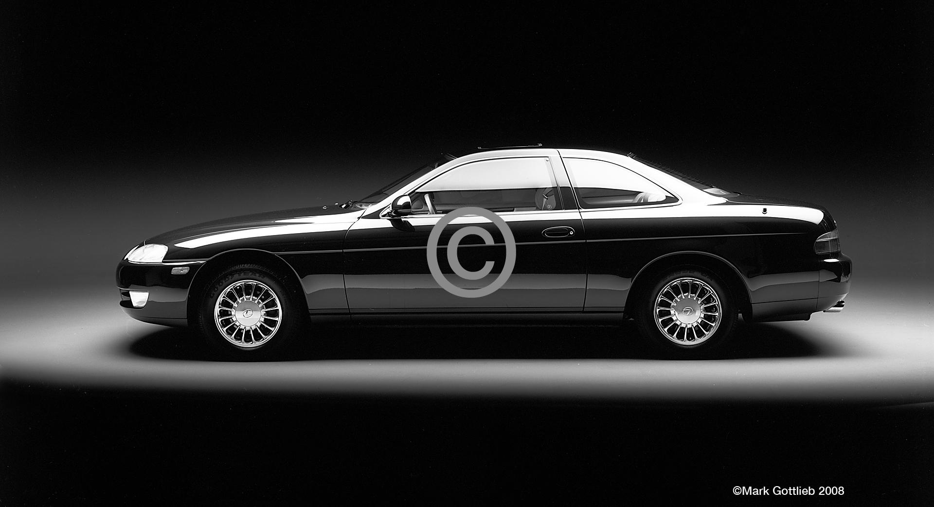 1992 Lexus Coup B&W