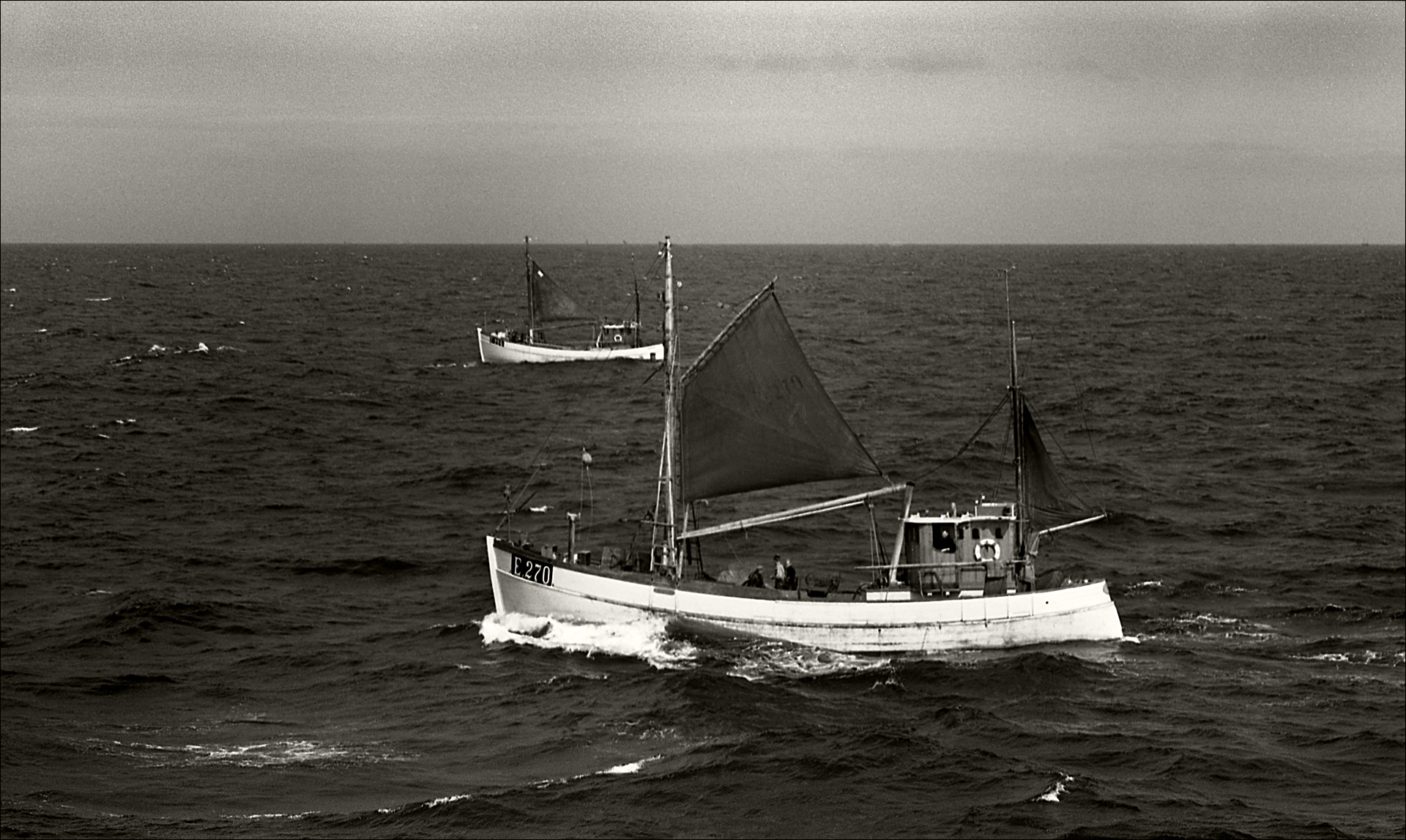 Fishing Boat, Near Cornwall, GB