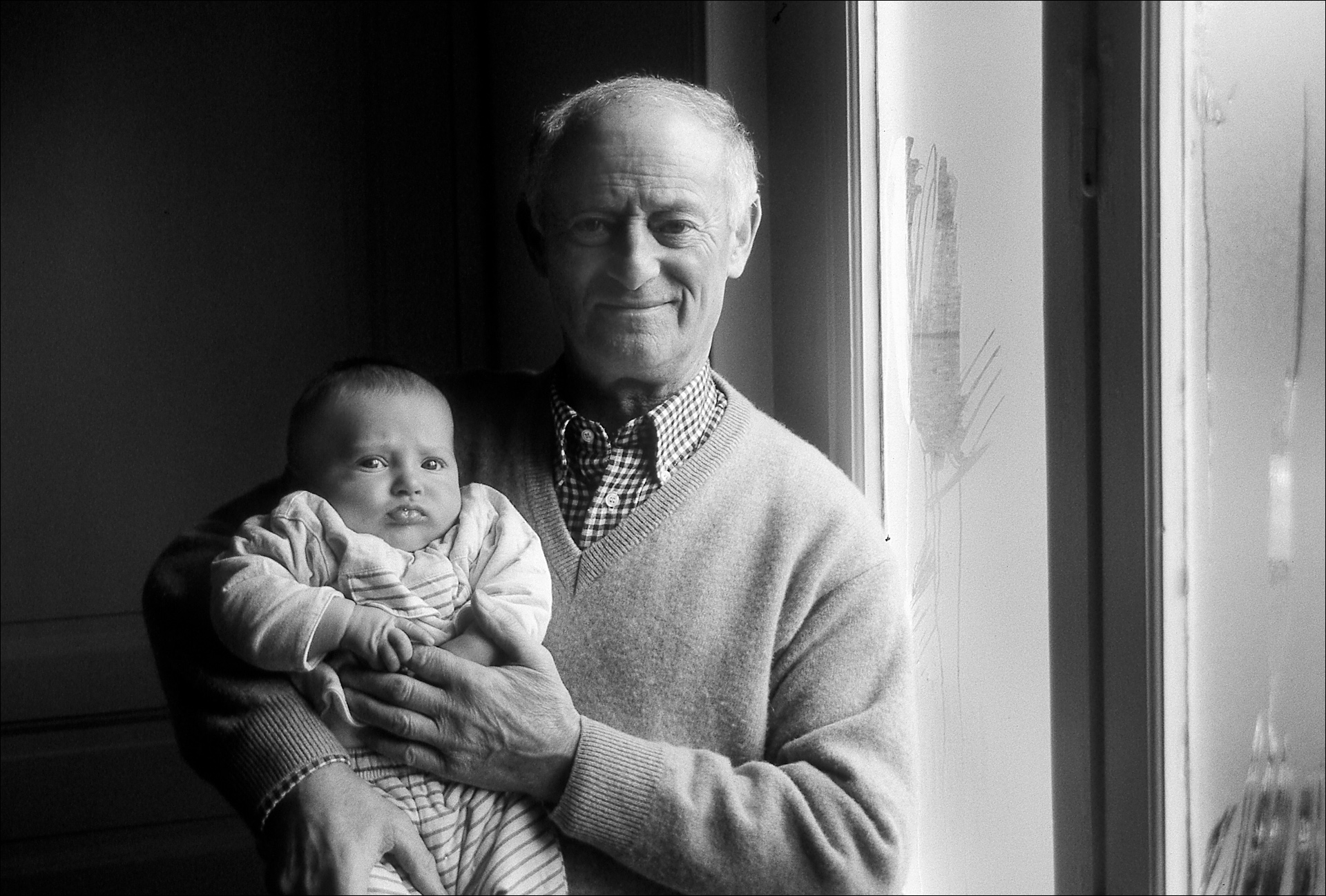 Ugo Bonani (child) Grand Father Ignace Enten, Valenciennes, France, 2002