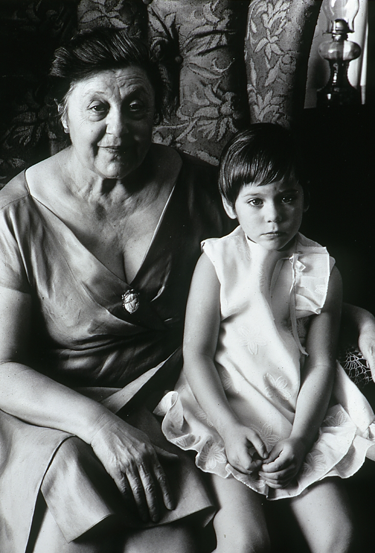 Charlie Salerno's Mom and Niece 1969