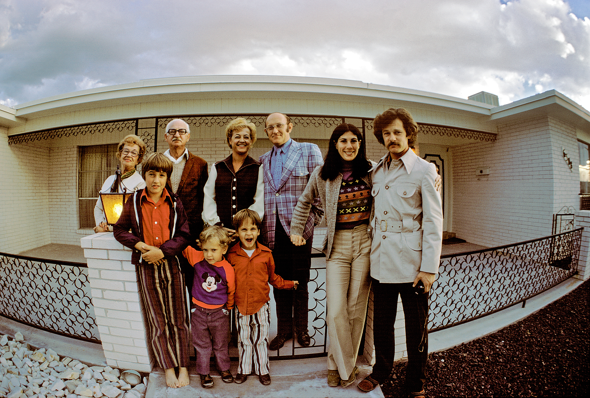 Family Photo 1972, El Paso, TX