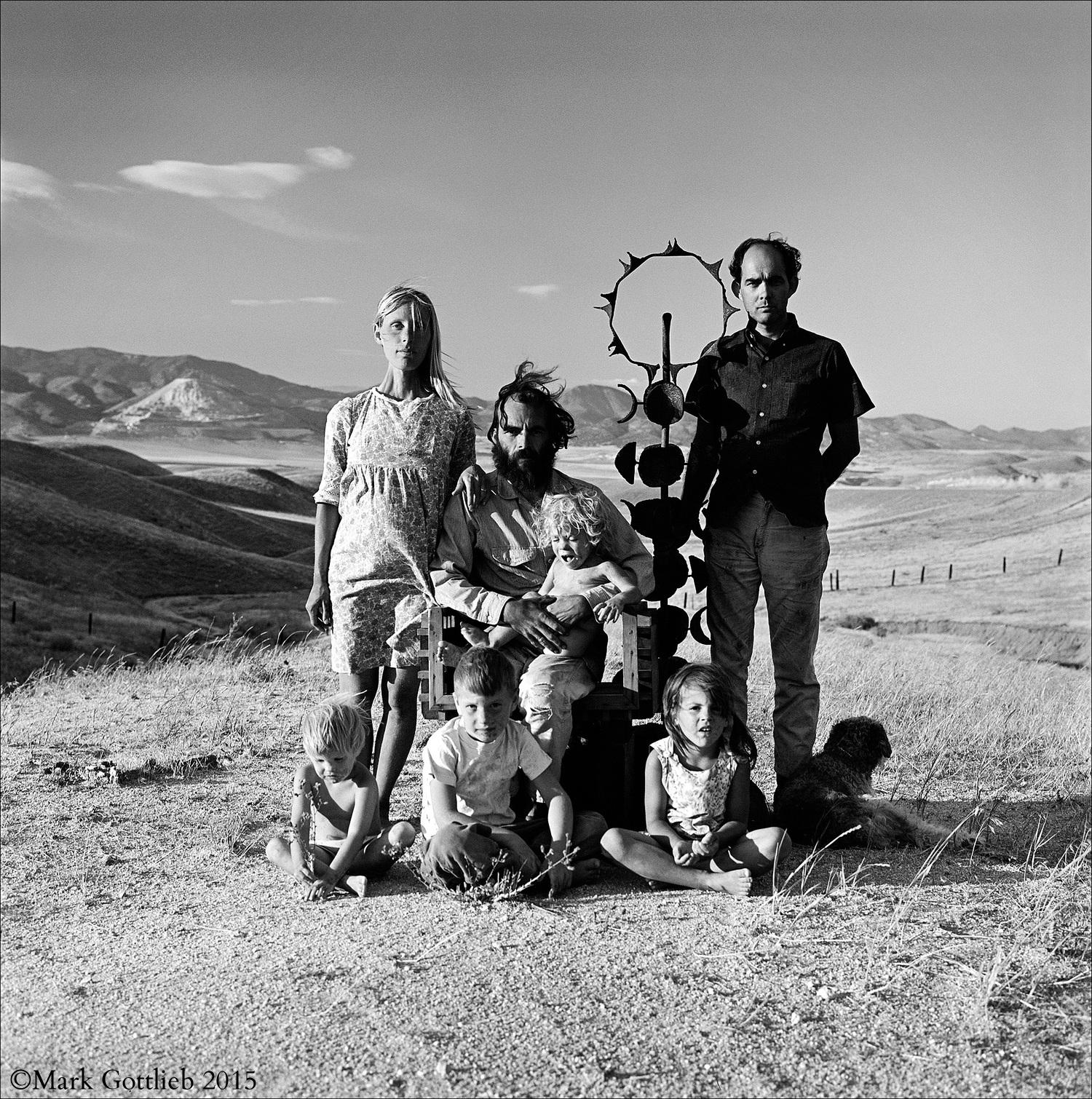 Flores Family, Tehachapi, CA 1965