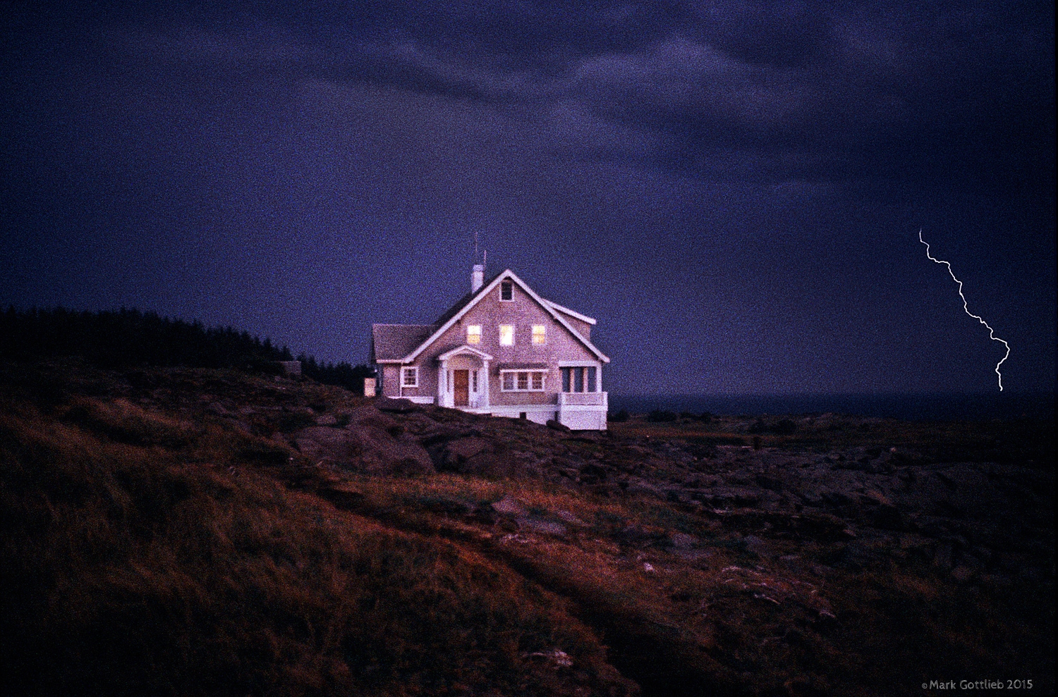 Wyeth House, Monhegan Island, Maine 1994