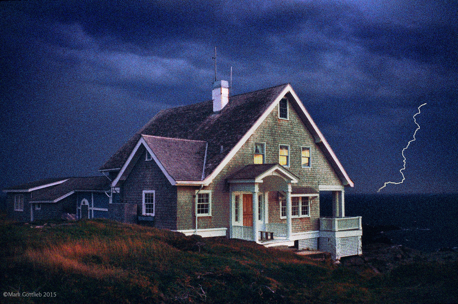 Wyeth House, Monhegan Island, MN, 1994
