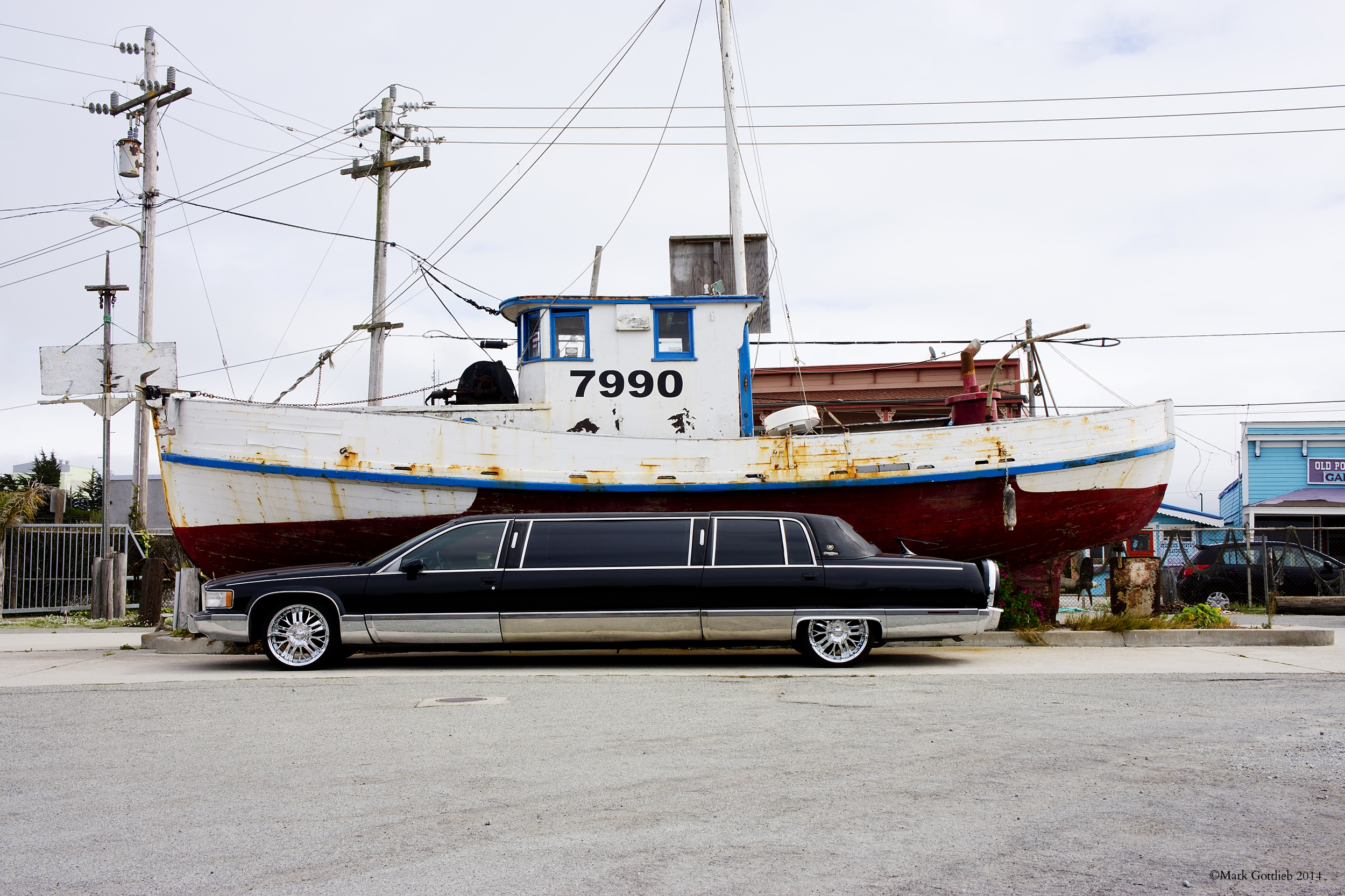 Extended Limo and Fishing Boat