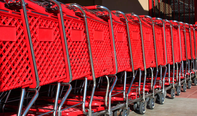 - As I approach the building, I notice like 100 carts outside chained up. Weird but o.k. Inside there are still carts, so things are good.