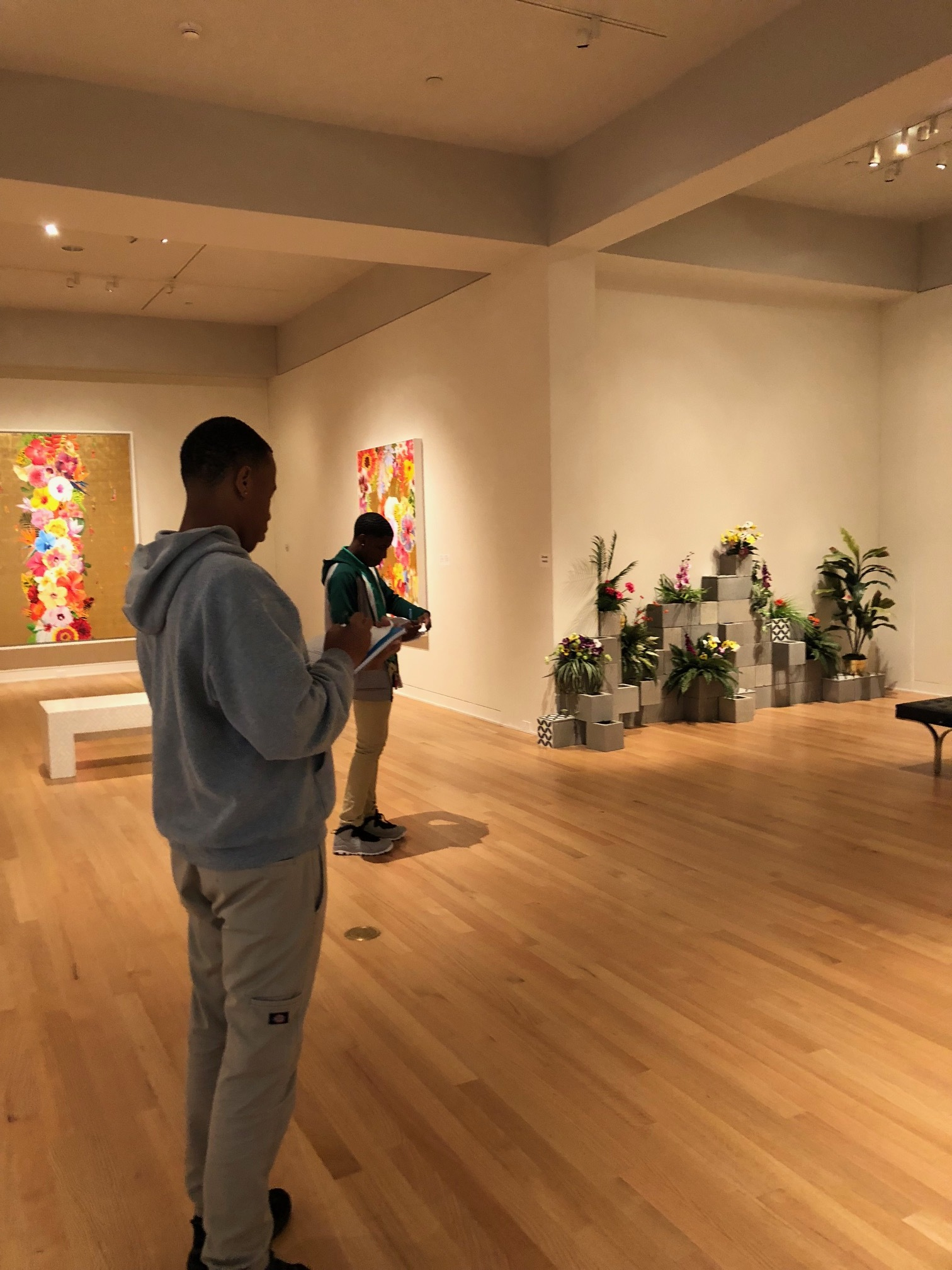 New Orleans Museum of Art field trip, Arts Administration and Business