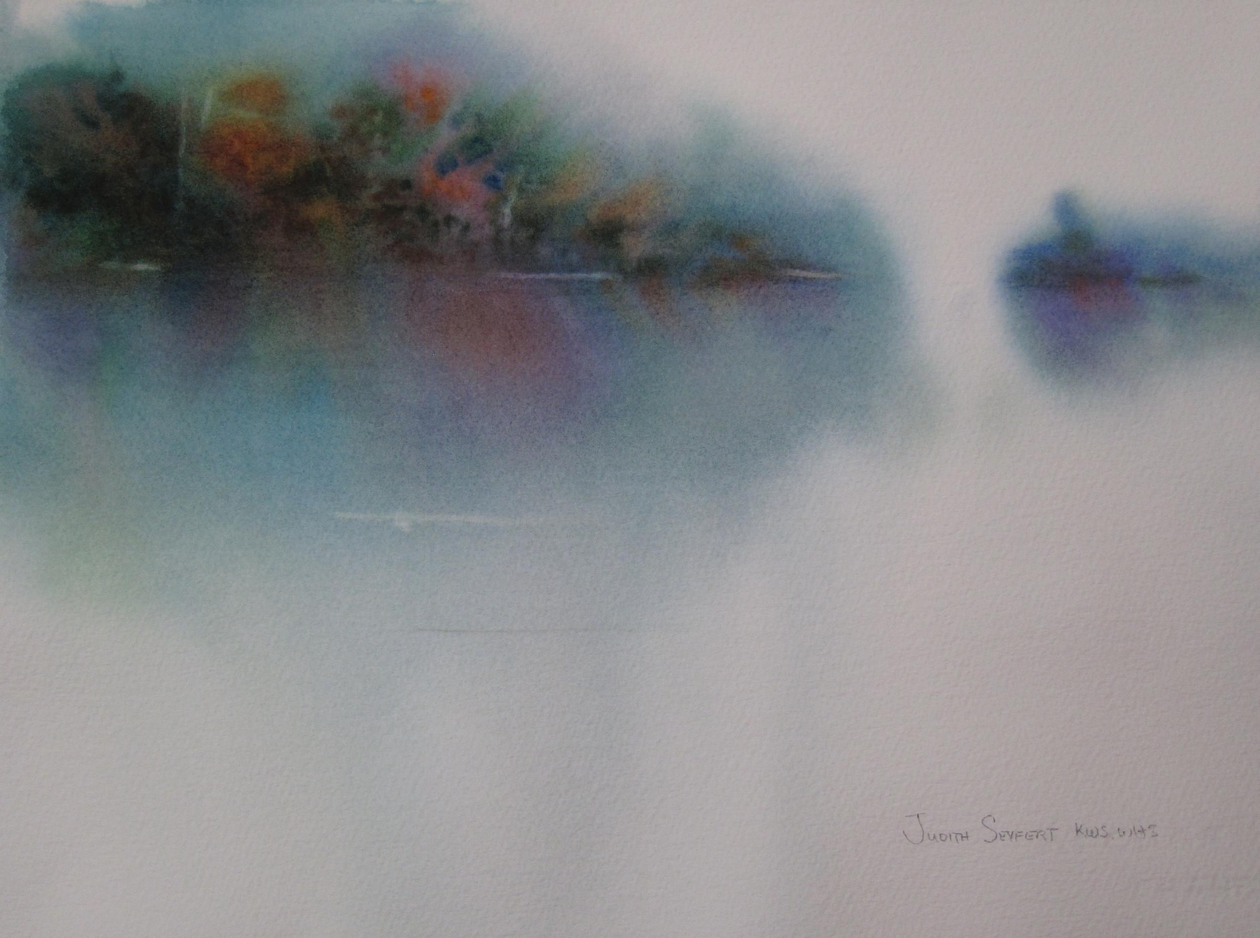 "Fall Meditations  11"" X 15""  Watercolor"