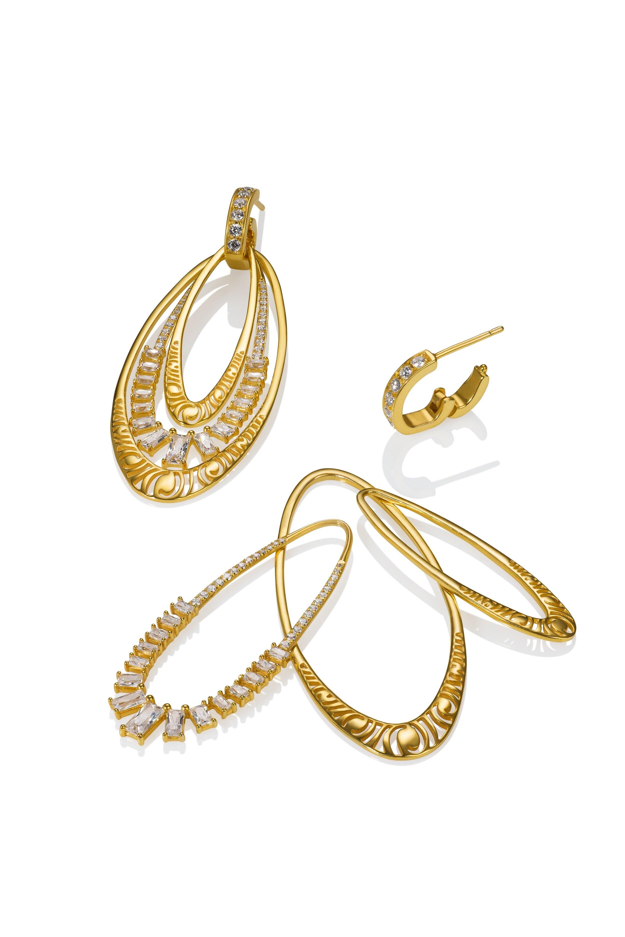 LYRA - Interchangeable Earrings - 14ky + White Topaz - Story.jpg