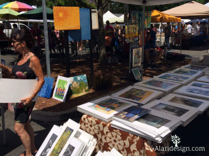 Art at the Market!