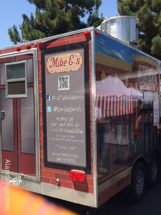 My favorite food truck at the market!