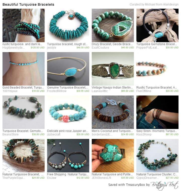 Beautiful Turquoise Bracelets
