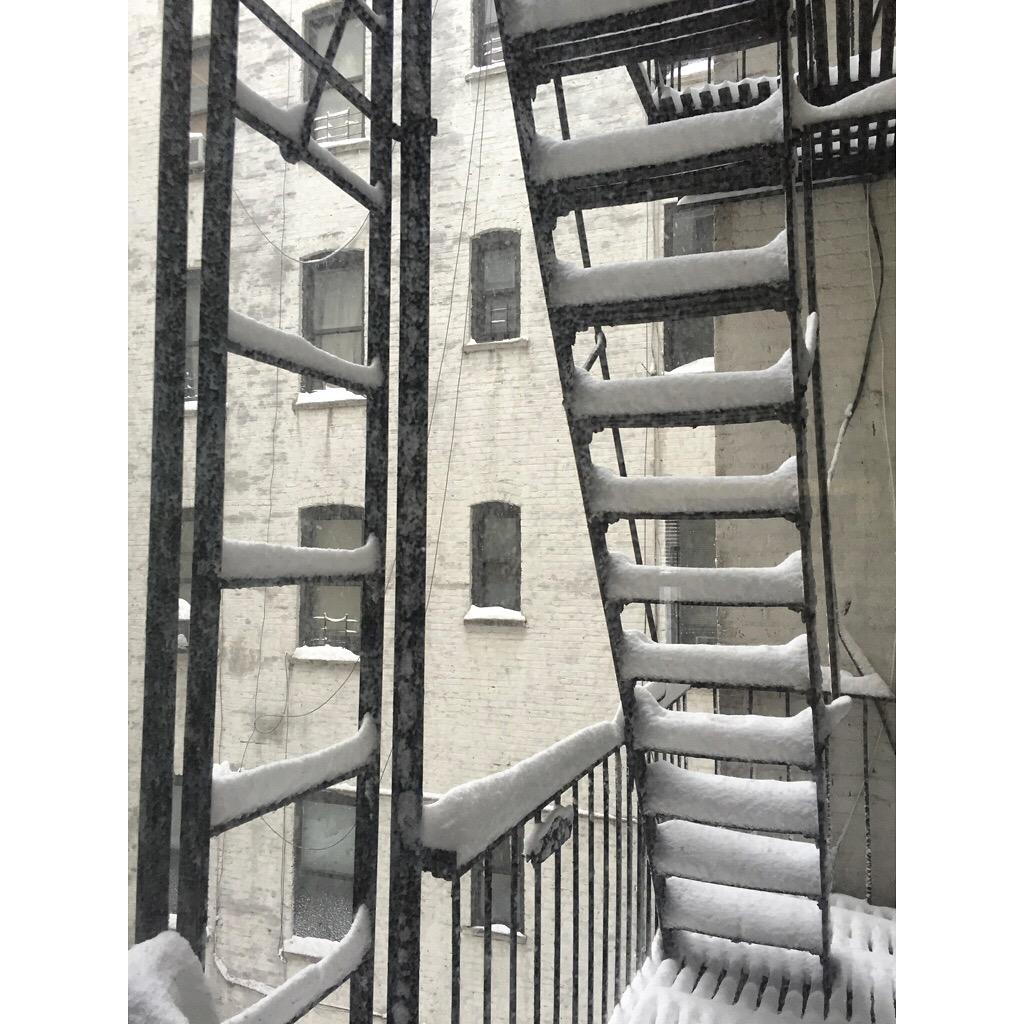 Snow York City