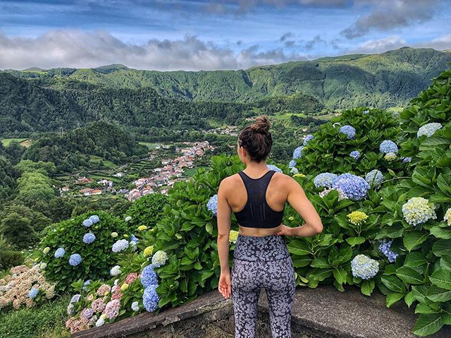 THE AZORES || Long hikes with stunning views ⛰ #azores #portugal