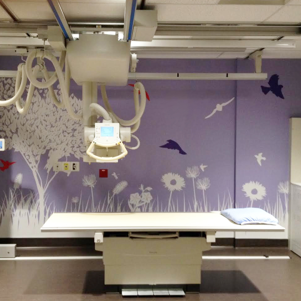 SF Wallgraphix +   Project: BC Children Hospital Radiology   Health Care / Printed Image