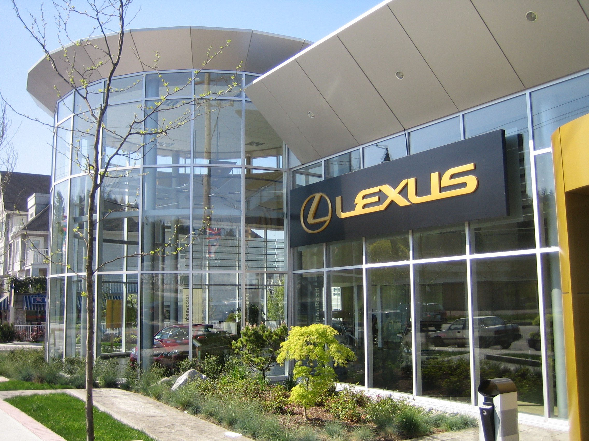 Project: Open Road Lexus Port Moody.   Ceramic 40 & SECH applied to 4000 sq ft of glass t  urning existing windows into  'SUPER WINDOWS'    Free Energy Window Film  Audits for qualified buildings.