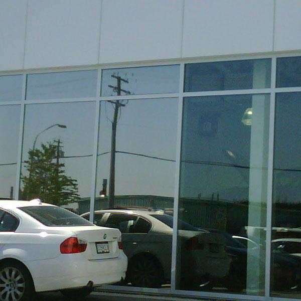 PROJECT: AutoWest BMW   GLARE & HEAT   FILM: Madico SG220