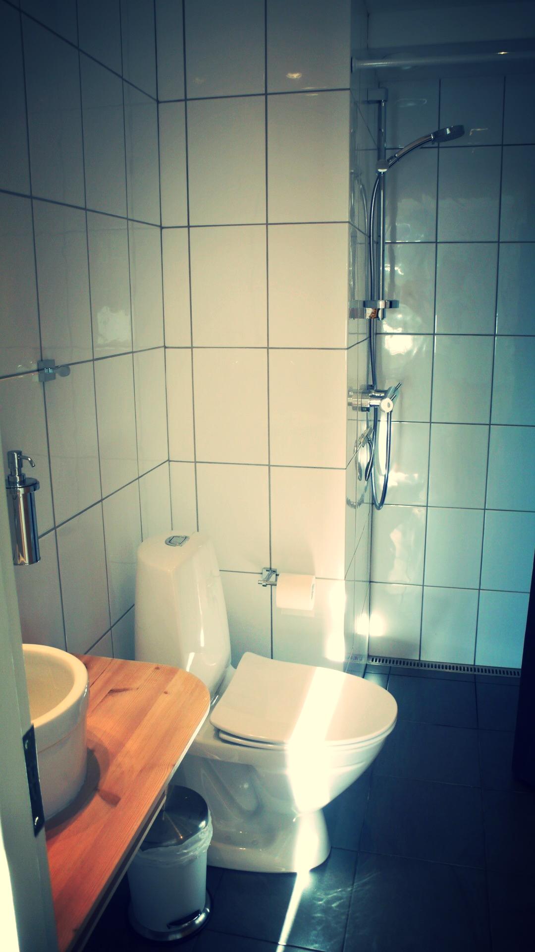 Privat badeværelse
