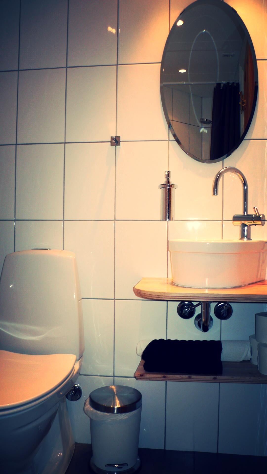 Nyt, moderne badeværelse
