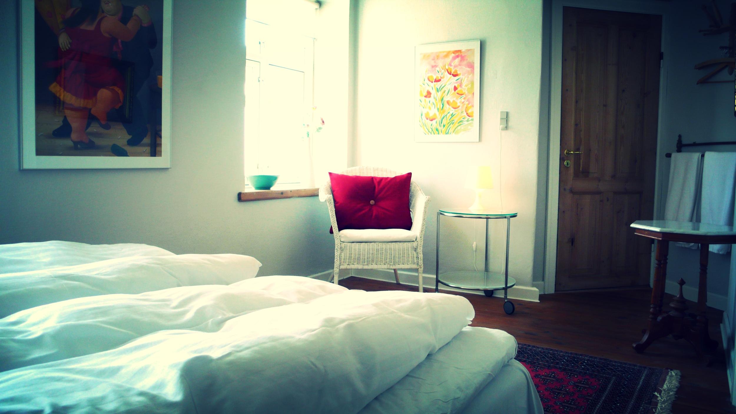 Hyggeligt værelse