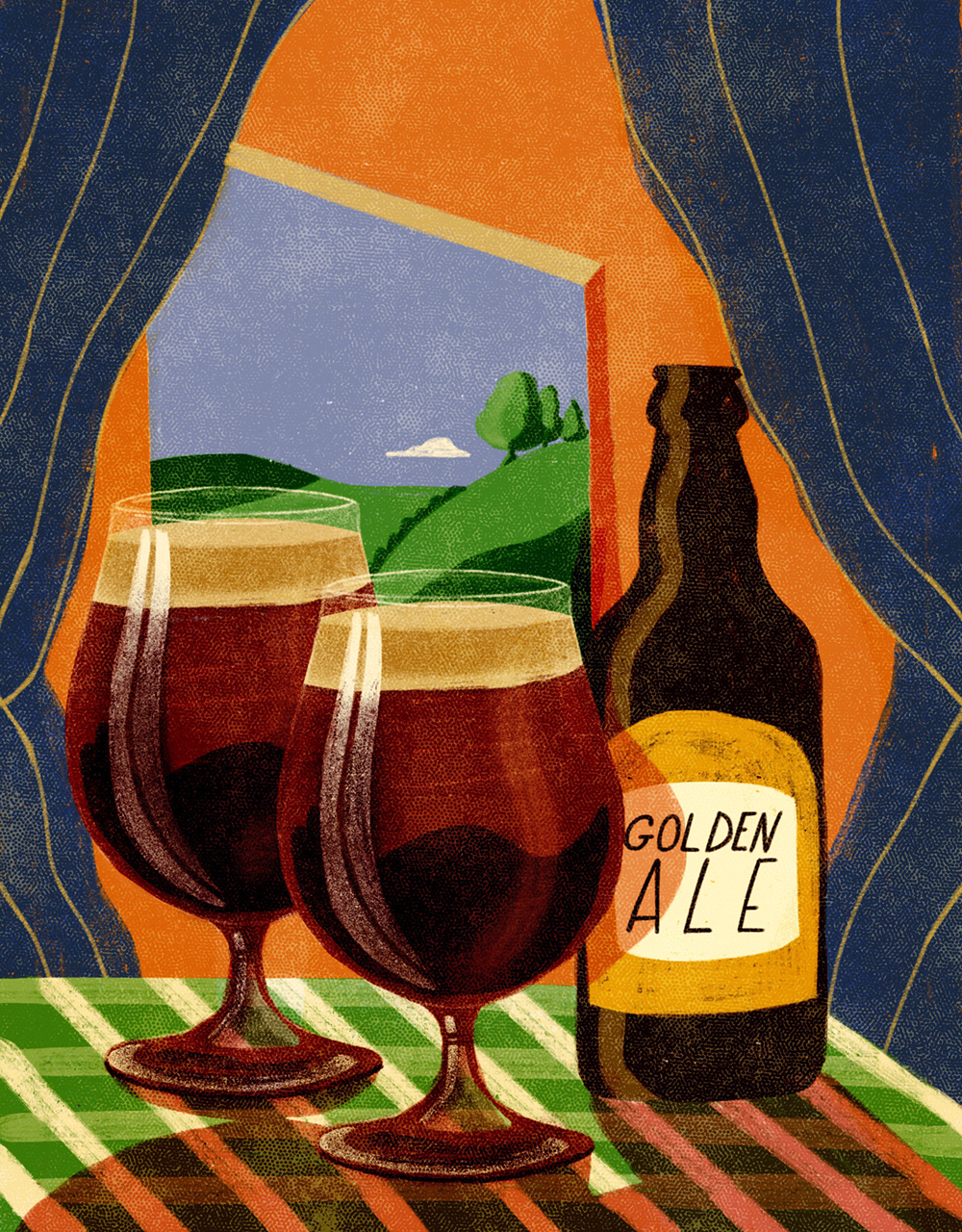 Ale Guide Cover for Waitrose