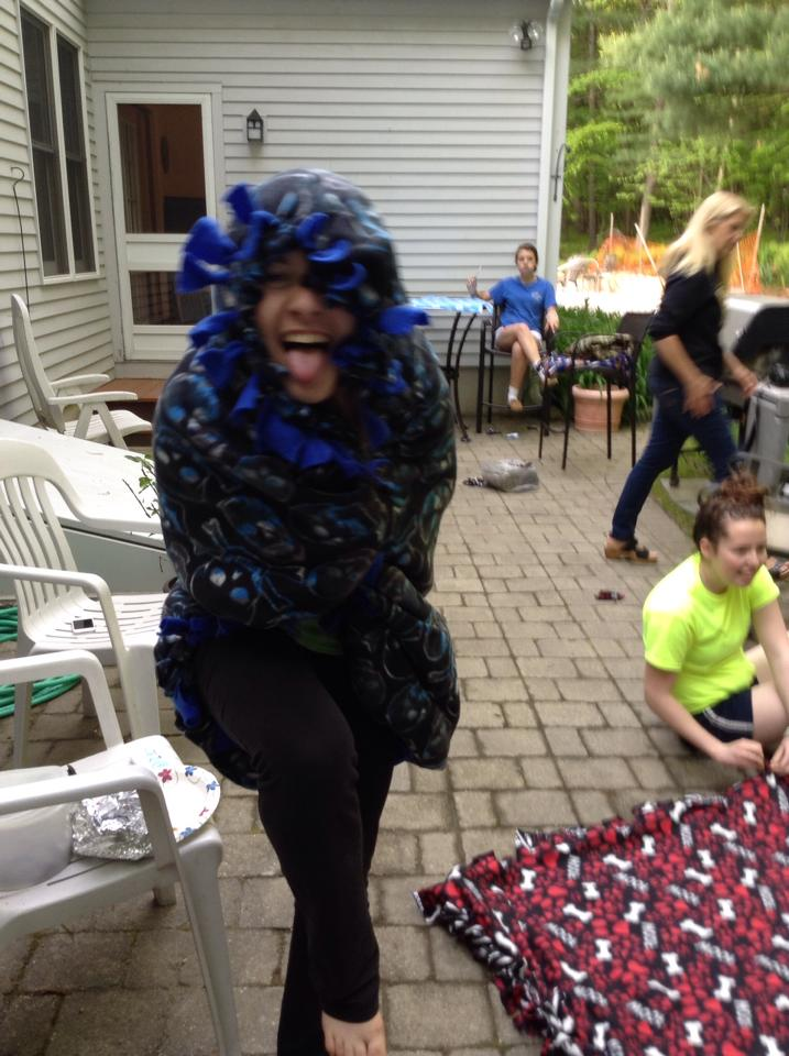Sponsor a Blanket Party!!! Have fun for a great cause!!!! All Bags and Blankets are donated to Adoption RI.