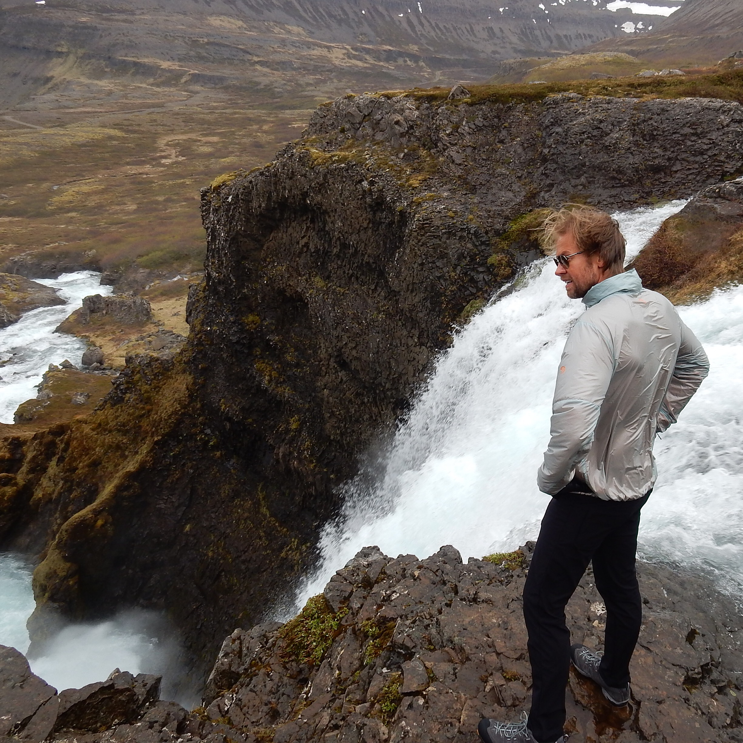Ryan Winfield scouting story locations in Iceland's Westfjords, 2016.