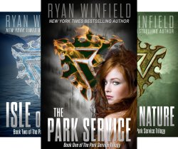 The Park Service Trilogy - Friendship, love, and betrayal in a post-apocolyptic paradise - Fans of dystopian fiction will find this bestselling series a welcome divergence from the norm of this genre.
