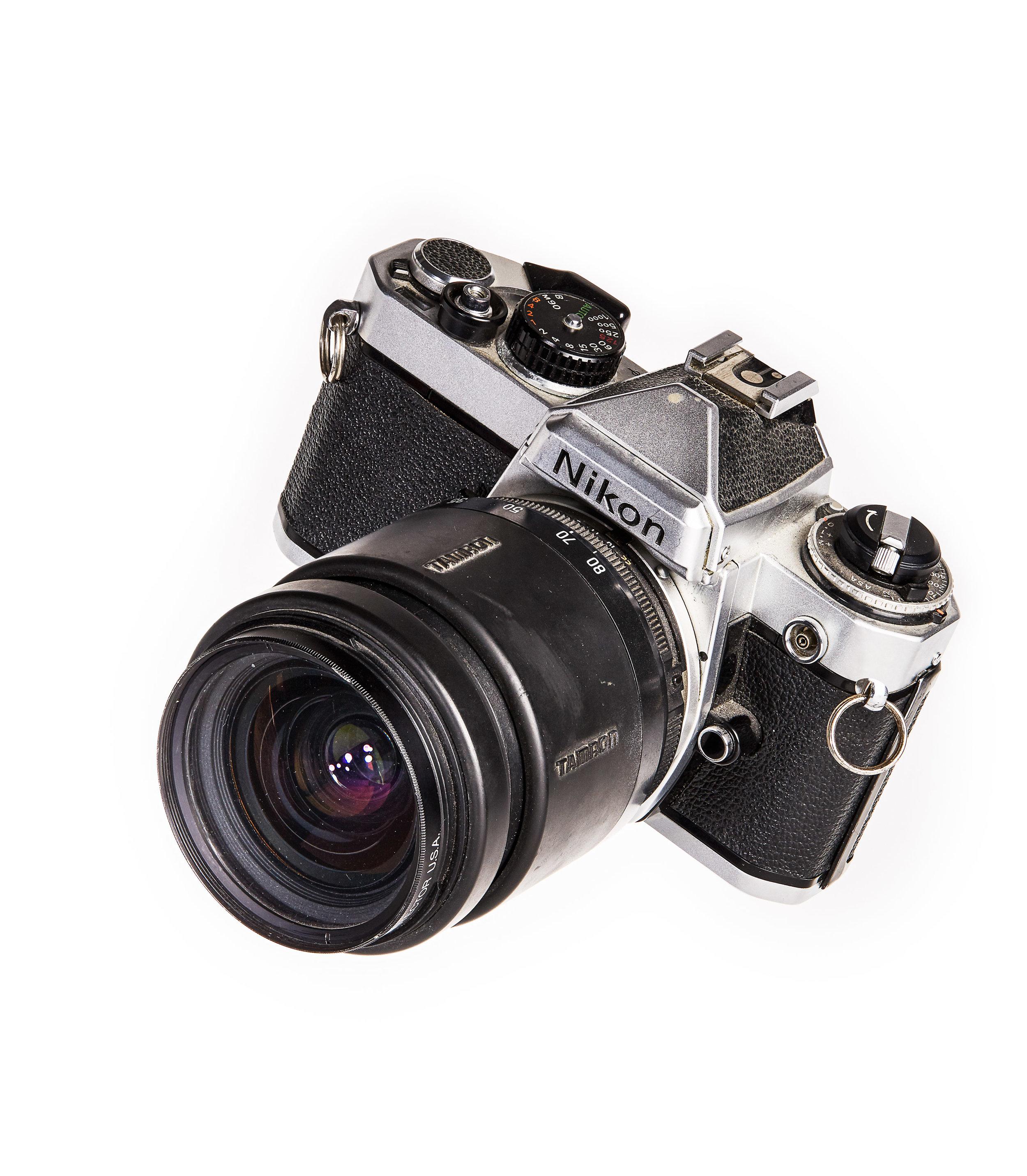 Jimmy Chin's First Camera