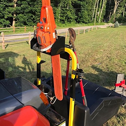 Big Tool Rack Tractor Chainsaw Holder