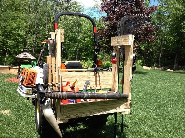 3 Point Hitch Tractor Carry All is Made, tractor carry all plans designs