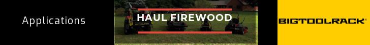 Bigtoolrack Haul Firewood