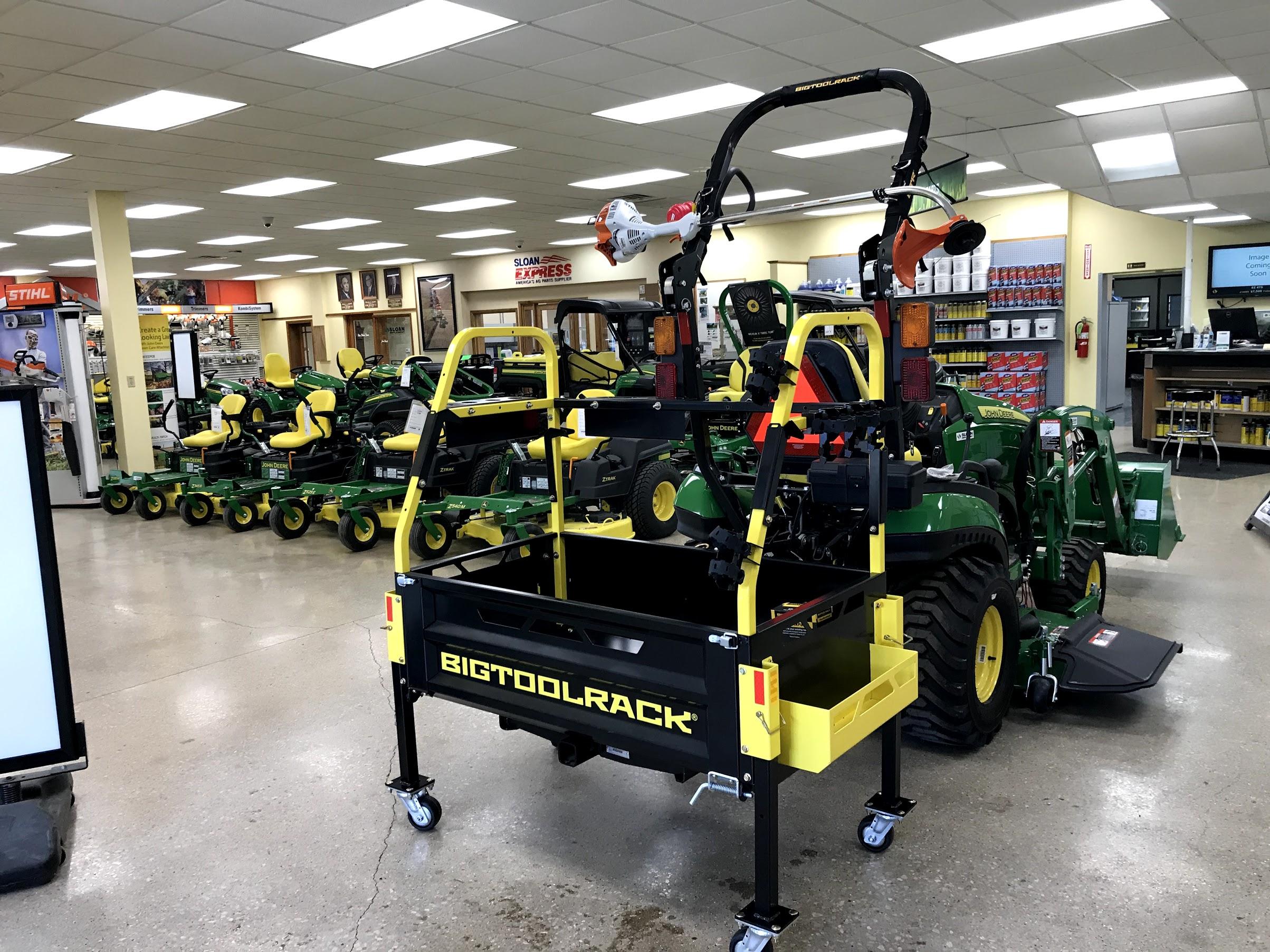 BigToolRack Photo Gallery   Tractor tool rack   Cool tractor