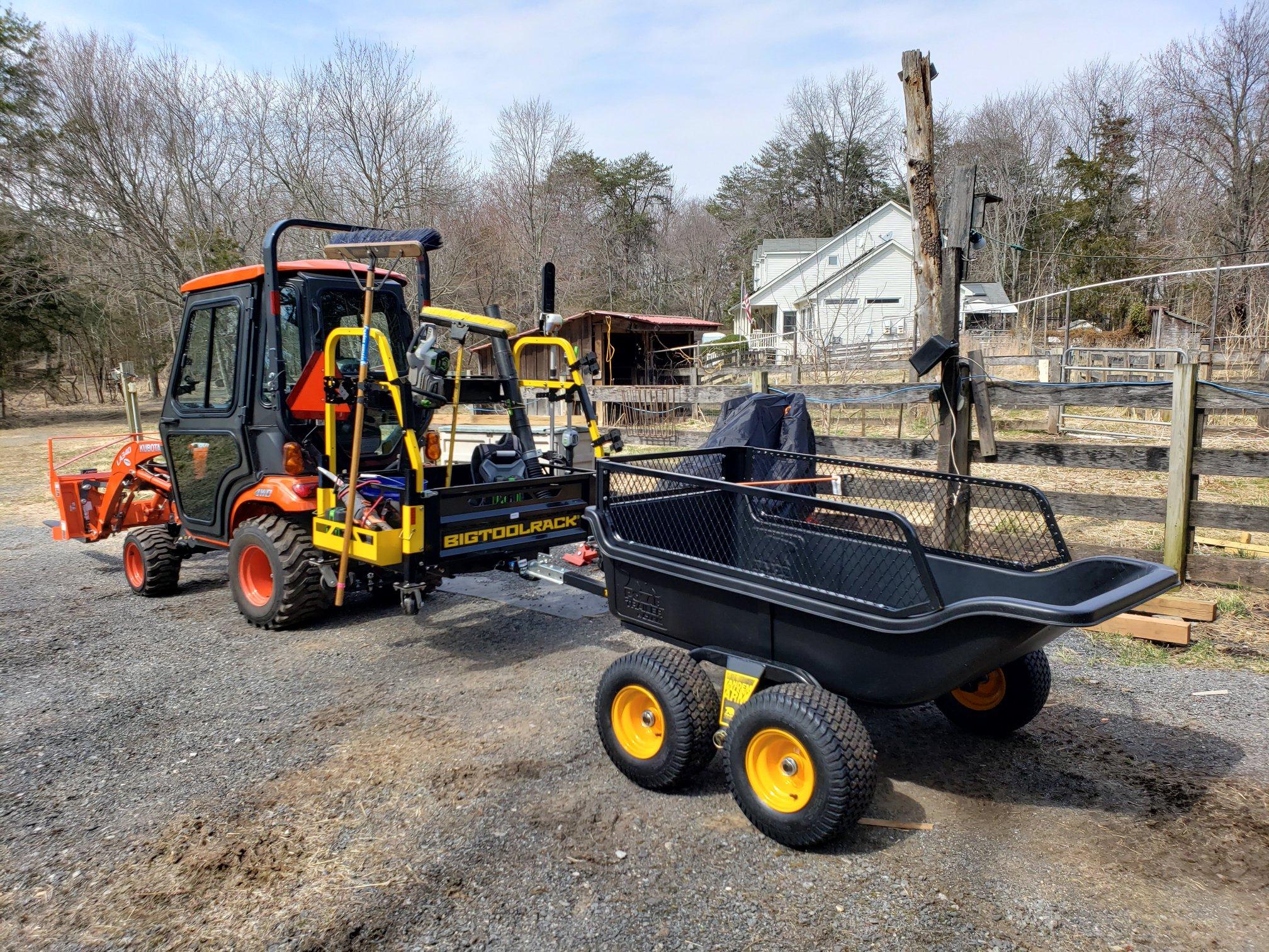 BigToolRack Photo Gallery | Tractor tool rack | Cool tractor