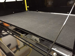 Custom Rubber Floor Liner To protect   the rack's bed