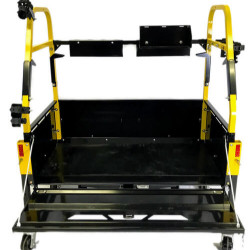 ✔ Active tail gate with cables