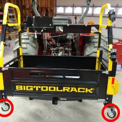 ✔ Sturdy wheel caddy kit