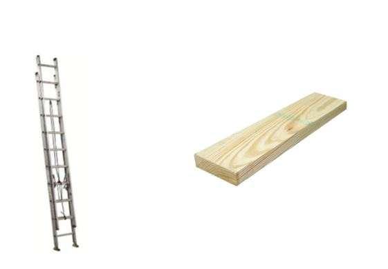 You can even carry ladders & long lumber with ease….