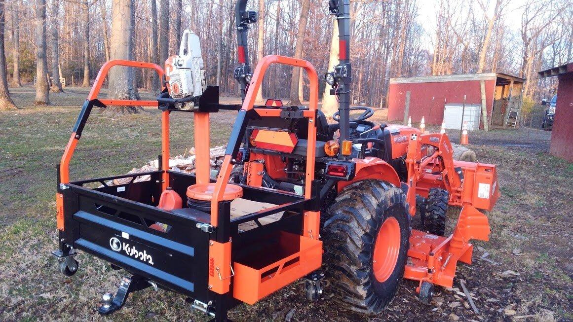 Kubota Tractor Tool Storage Leather Tool Roll