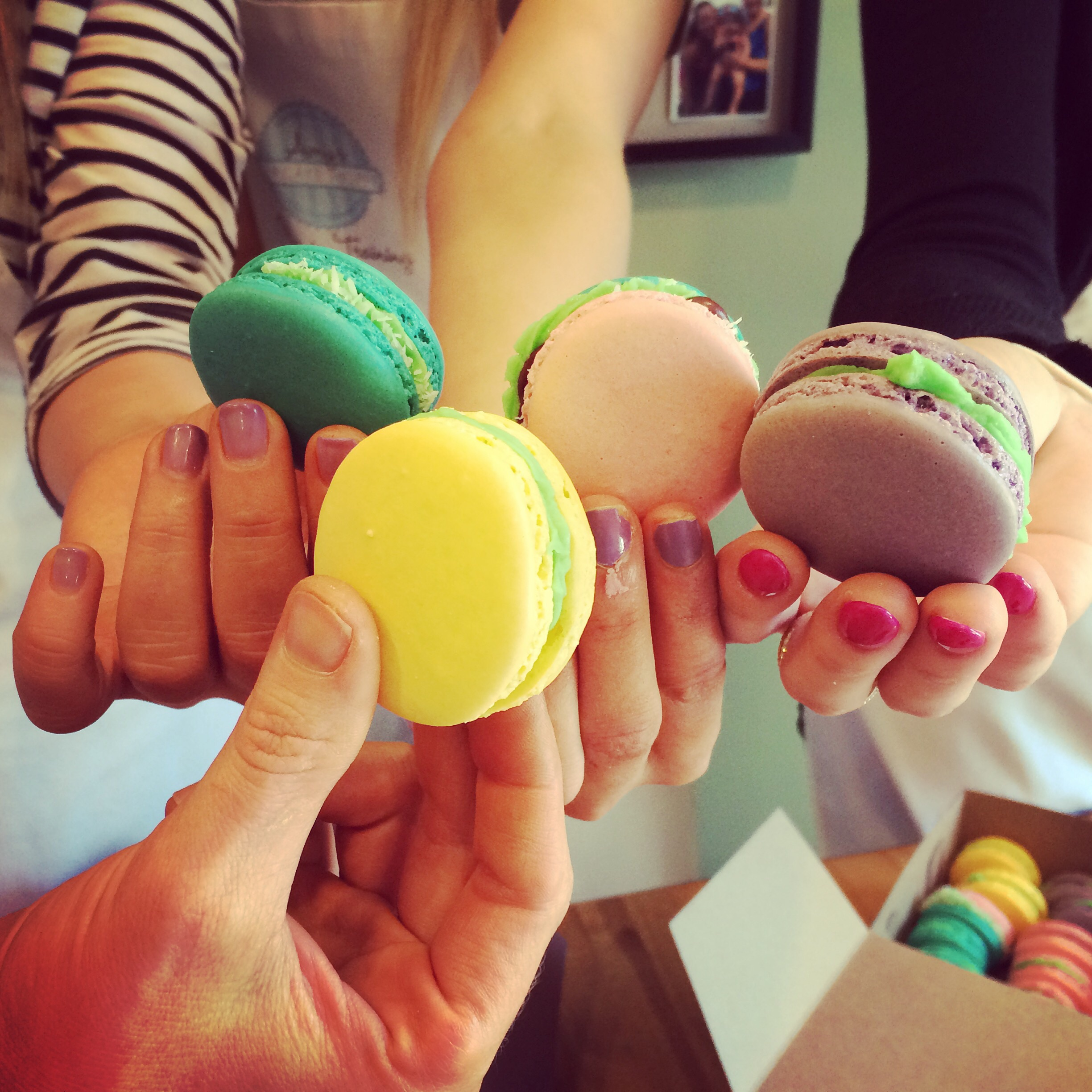 Macaron classes available