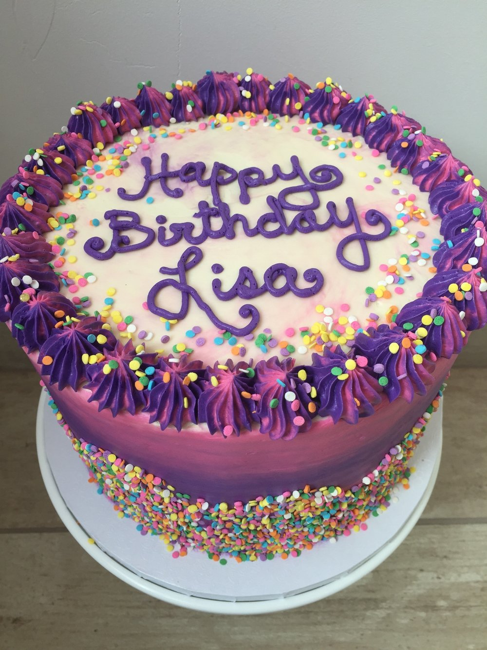 Birthday Cakes — Amy's Cupcake Shoppe