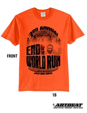 Some of these very cool shirts are available for sale - contact me or Tim Gundy for details.