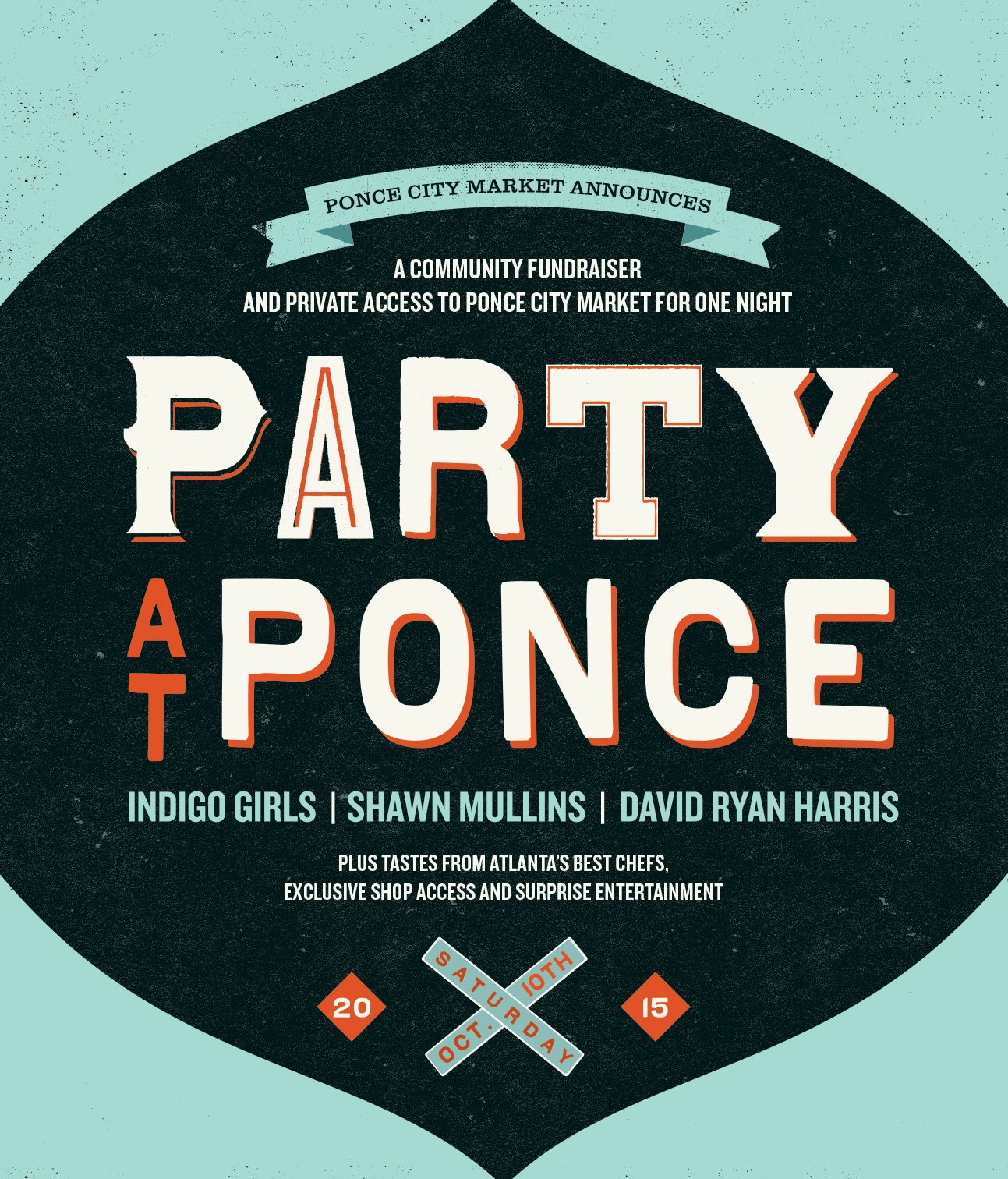 Party at Ponce Featuring the Indigo Girls and 18.21 Bitters Craft Cocktails!