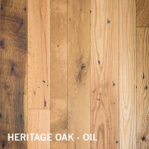 Reclaimed Heritage Oak Wood Flooring