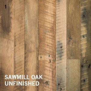 Reclaimed Distressed barn board wall paneling Sawmill Oak